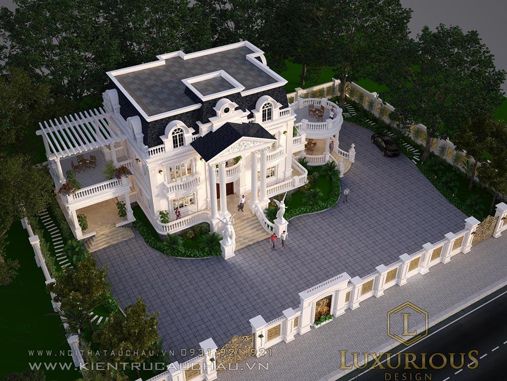 Mặt bằng dinh thự đẹp ở Phú Thọ