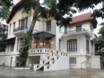 Dự Án Thiết Kế Thi Công Biệt Thự Phố Phan Đình Phùng Hà Nội 3 Tầng