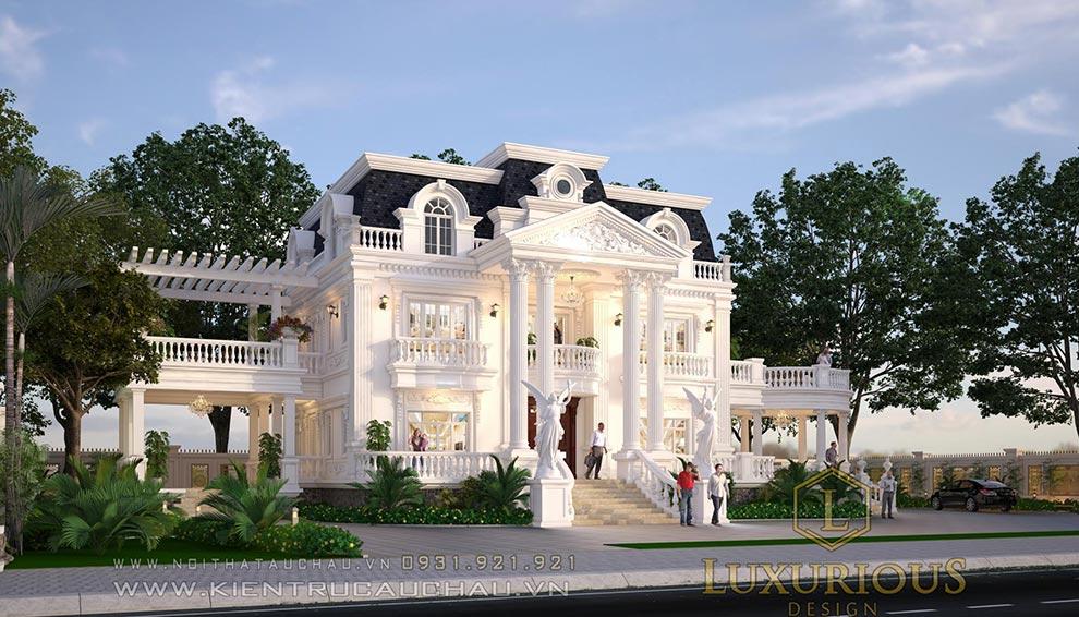 Mẫu dinh thự đẹp nhất việt nam