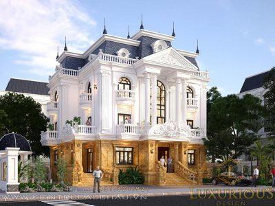Top 5 mẫu kiến trúc nhà 3 tầng sang trọng bậc nhất