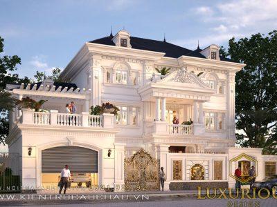 Mẫu Thiết Kế Kiến Trúc Biệt Thự Phố Crown Villas Tại Thái Nguyên