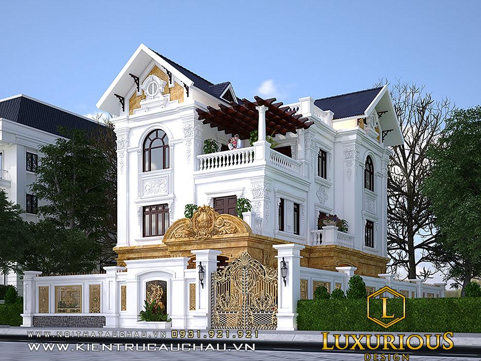 Thiết kế kiến trúc biệt thự bắc ninh