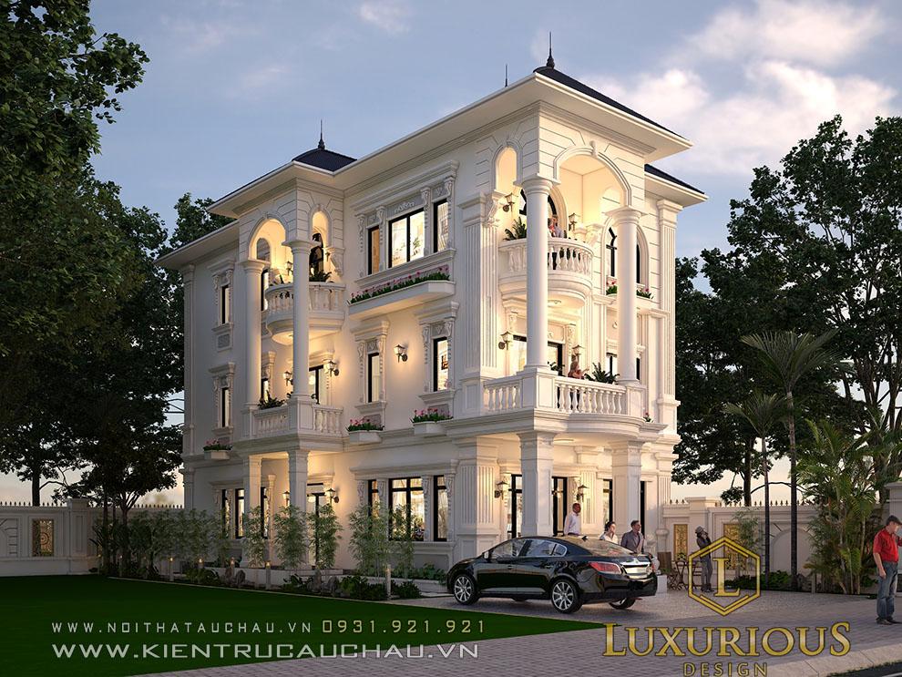 Mặt bằng kiến trúc biệt thự đẹp nhất đà nẵng