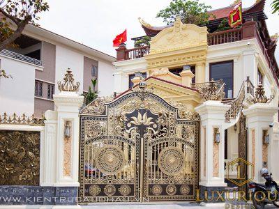 Thi công kiến trúc biệt thự phố Quảng Ninh