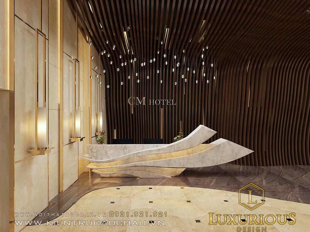 Thiết kế khách sạn CM nha trang