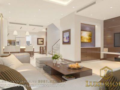 Thiết kế nội thất biệt thự vườn ecopack vườn mai Hưng Yên