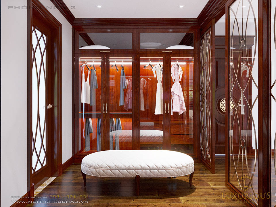 Thiết kế nội thất biệt thự Hà Tĩnh đẳng cấp phong cách tân cổ điển