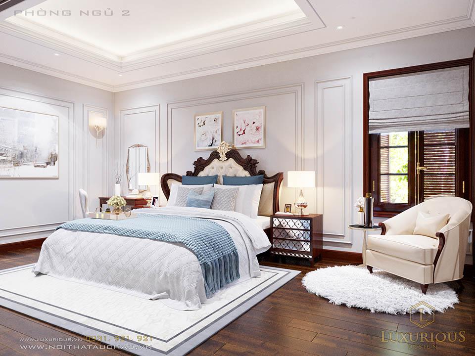 Thiết kế nội thất biệt thự Hà Tĩnh đẳng cấp