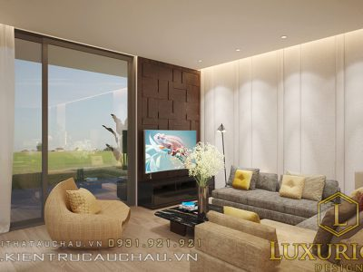 Mẫu thiết kế nội thất biệt thự hiện đại Sơn Trà – Đà Nẵng