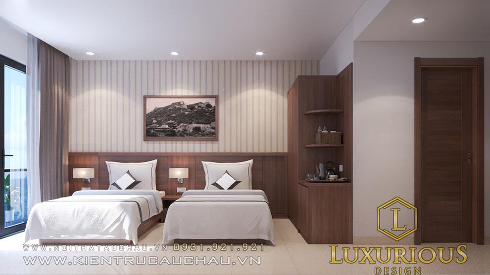 Phòng ngủ đôi khách sạn vip