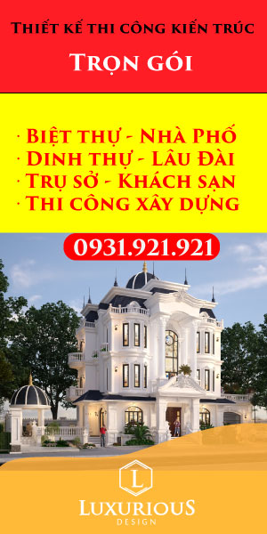 Banner dọc Luxurious Design