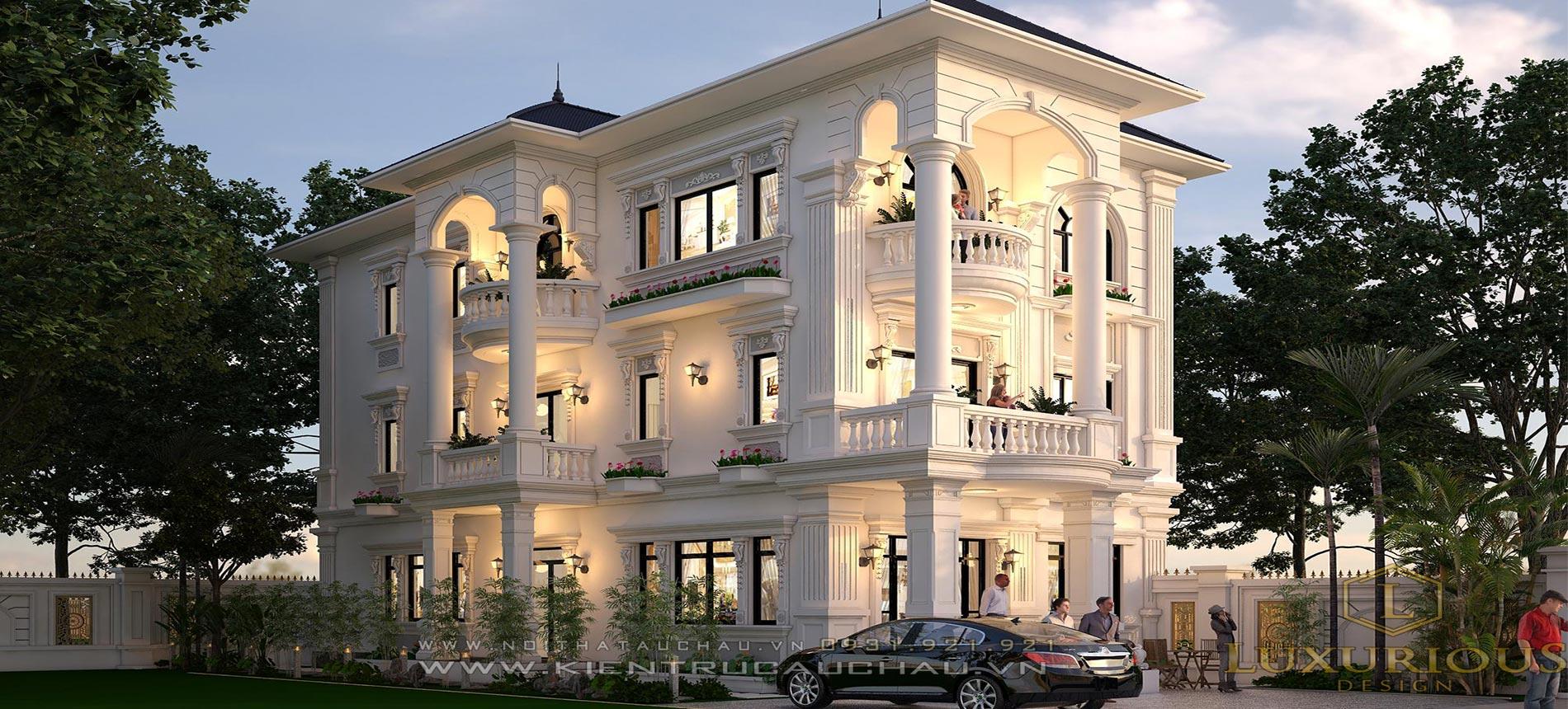 Kiến trúc âu châu Luxurious Design