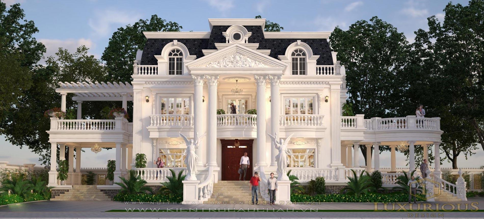 Công ty thiết kế kiến trúc nhà đẹp