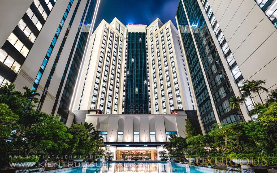 Mặt bằng khách sạn Crowne Plaza Hà Nội