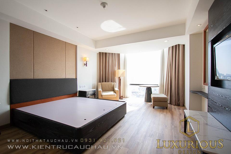 Hoàn thiện phòng ngủ khách sạn 5 sao