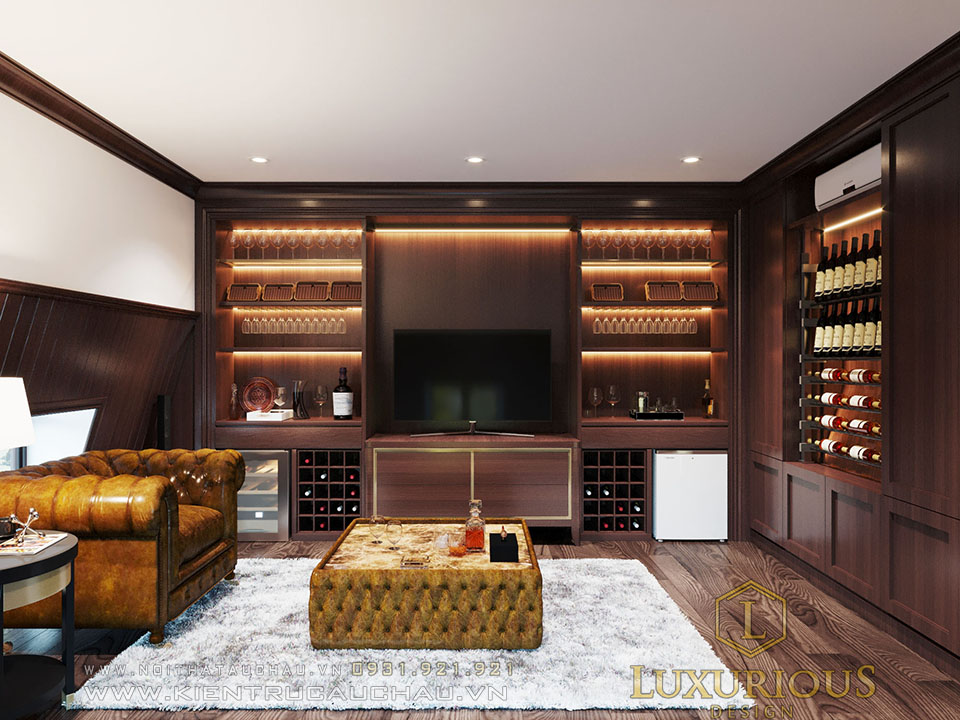 Phòng rượu biệt thự Vinhomes Imperia