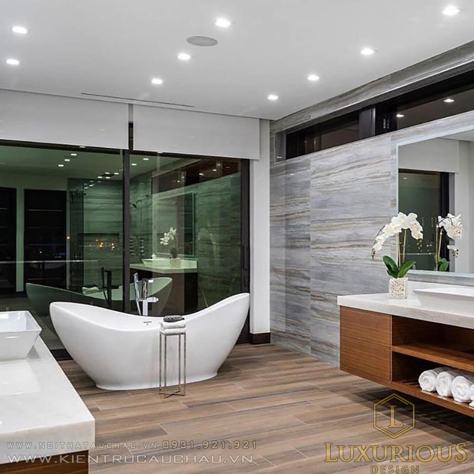Phòng tắm biệt thự đẹp