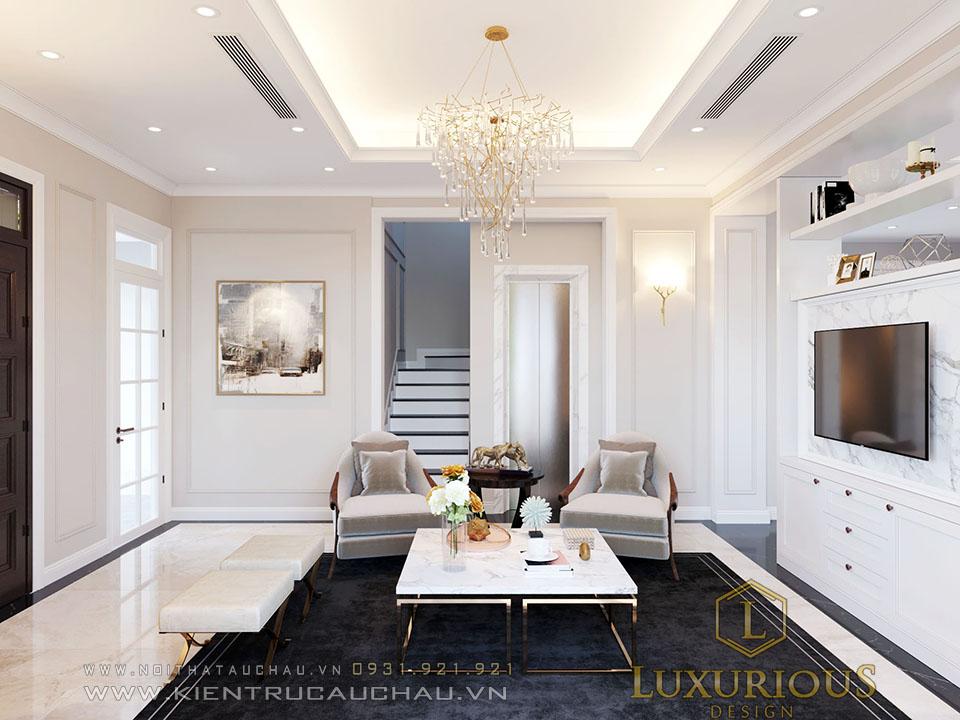 Thiết kế phòng khách Vinhomes Imperia