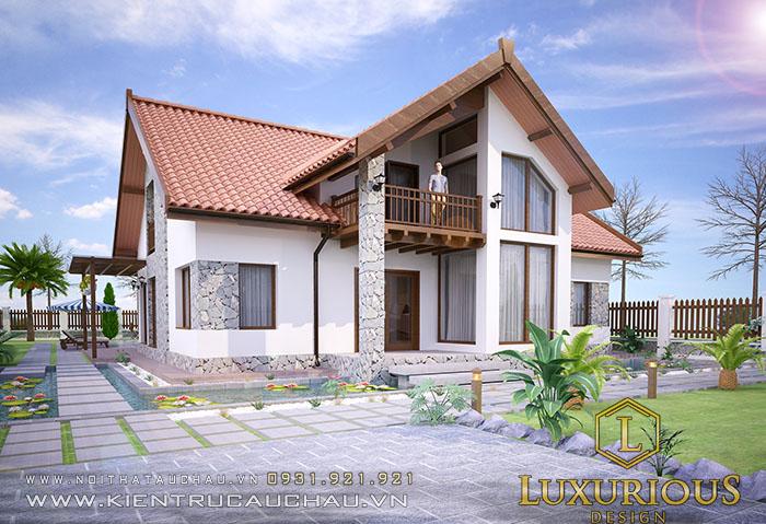 Mẫu thiết kế nhà cấp 4 nông thôn mái thái