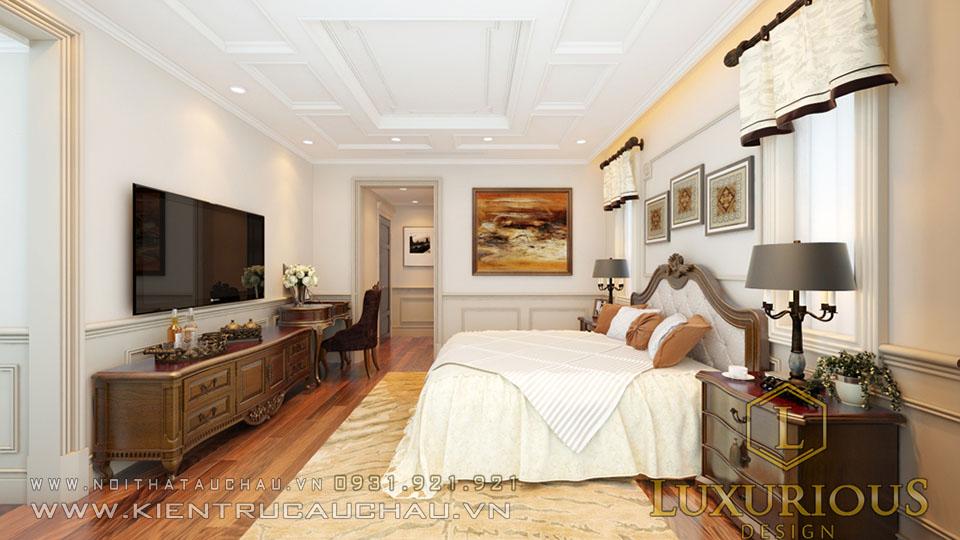 Phòng ngủ vinhomes Imperia Hải Phòng