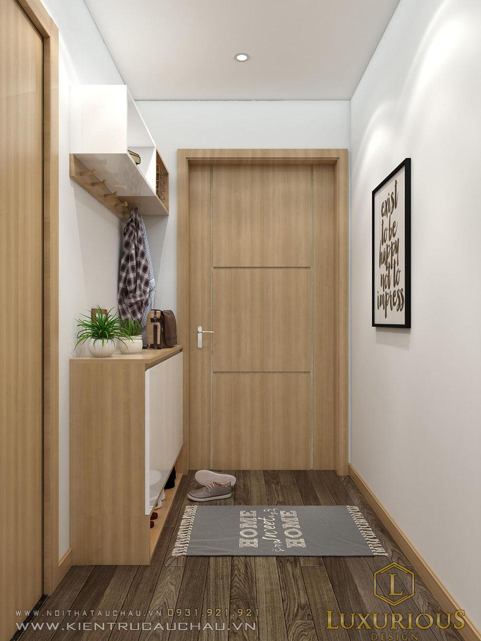 Mẫu thiết kế căn hộ chung cư Sky Central