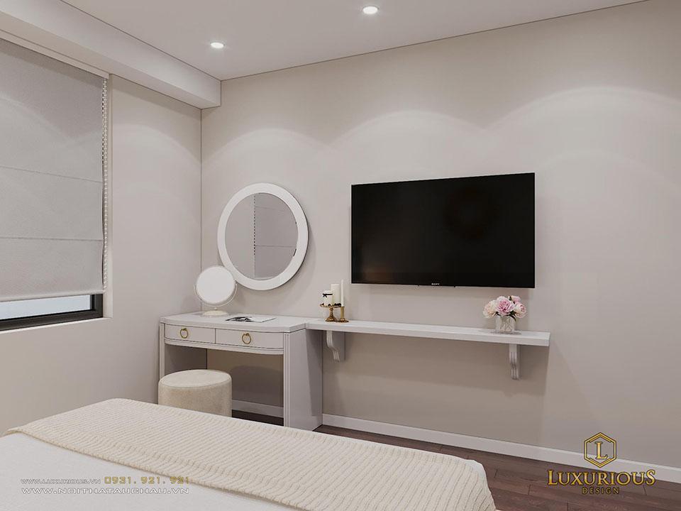 Mẫu phòng ngủ khách sạn tân cổ điển