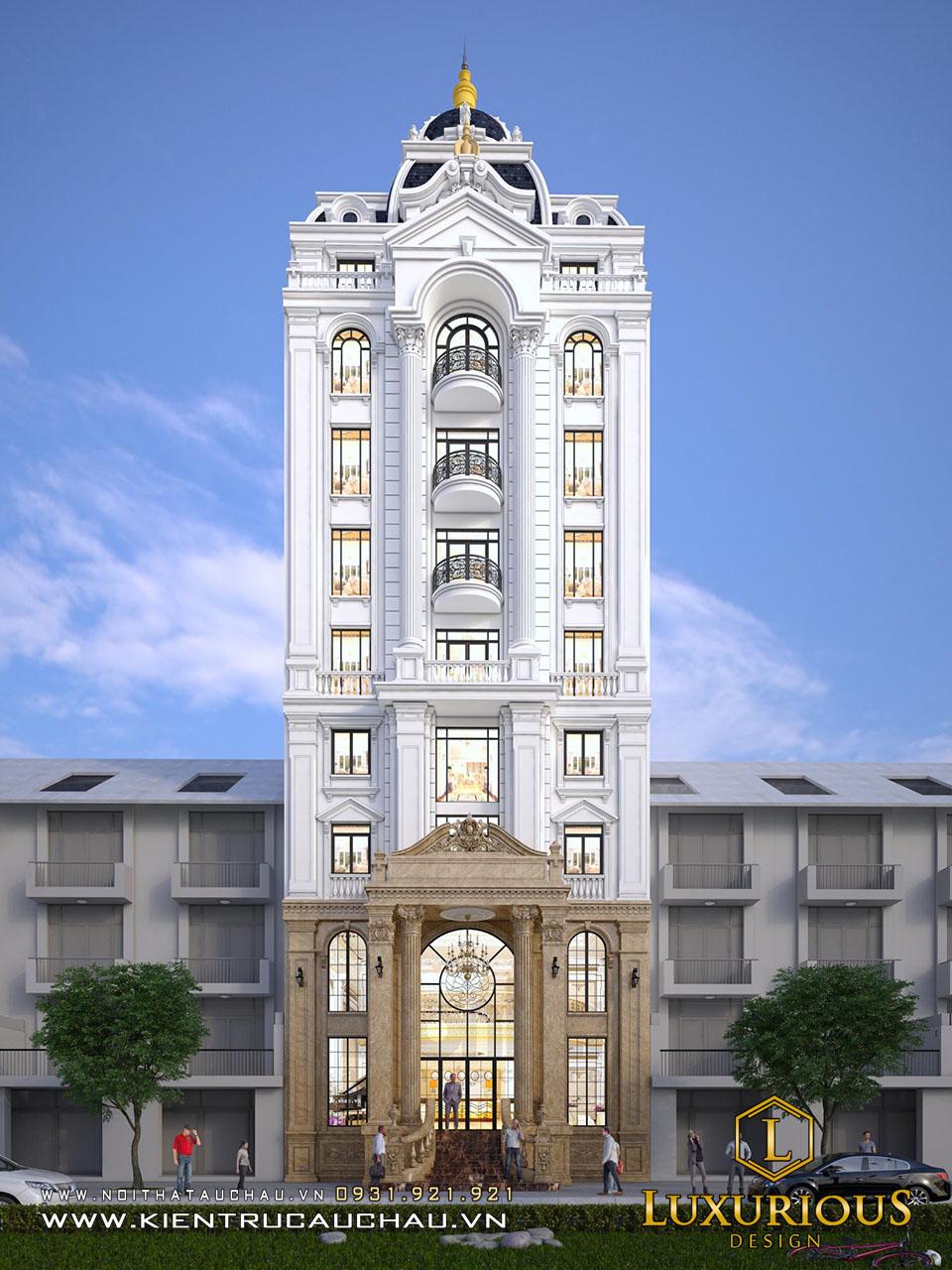 Mẫu thiết kế khách sạn đẹp nhất Việt Nam