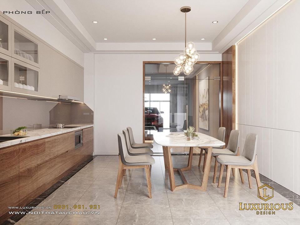 Thiết kế phòng bếp nhà hiện đại
