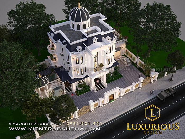 """Mẫu thiết kế nhà biệt thự mà ai cũng bị """"hớp hồn"""" ngay từ cái nhìn đầu tiên"""