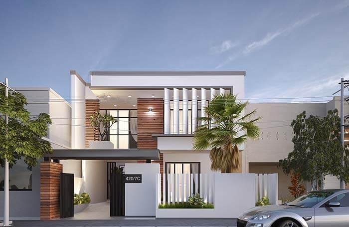 Kiến trúc nhà đẹp hiện đại