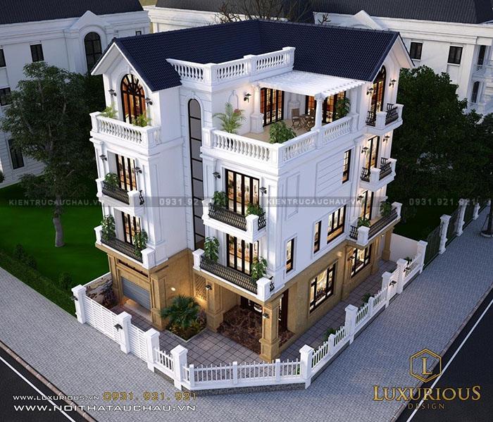 Mẫu thiết kế kiến trúc biệt thự