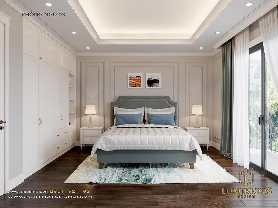 Thiết Kế Nội Thất Phòng Ngủ Của Nhà Phố Calyx Residence