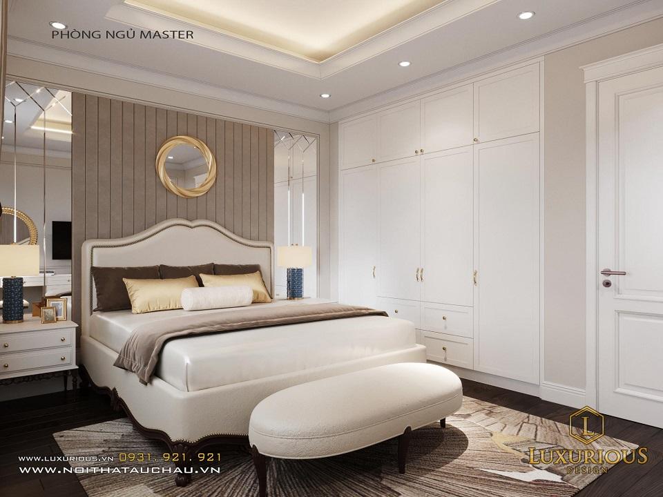 Thiết Kế Phòng Ngủ Master Cho Nhà Phố Calyx Residence