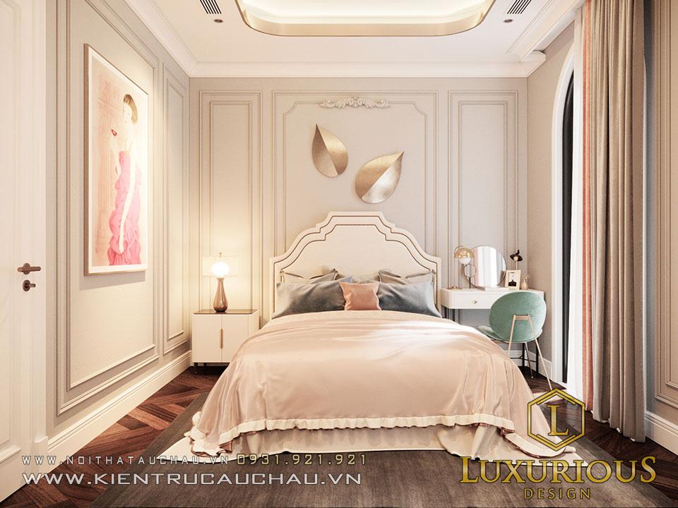 Mẫu thiết kế phòng ngủ tân cổ điển 1