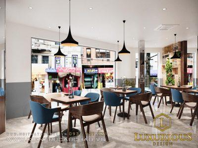 Mẫu Thiết Kế Nội Thất Nhà Phố Kết Hợp Kinh Doanh Quán Cafe