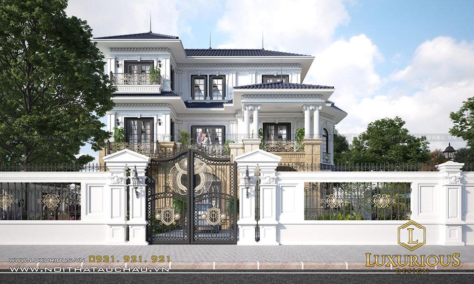 Biệt thự đẹp 3 tầng đẹp