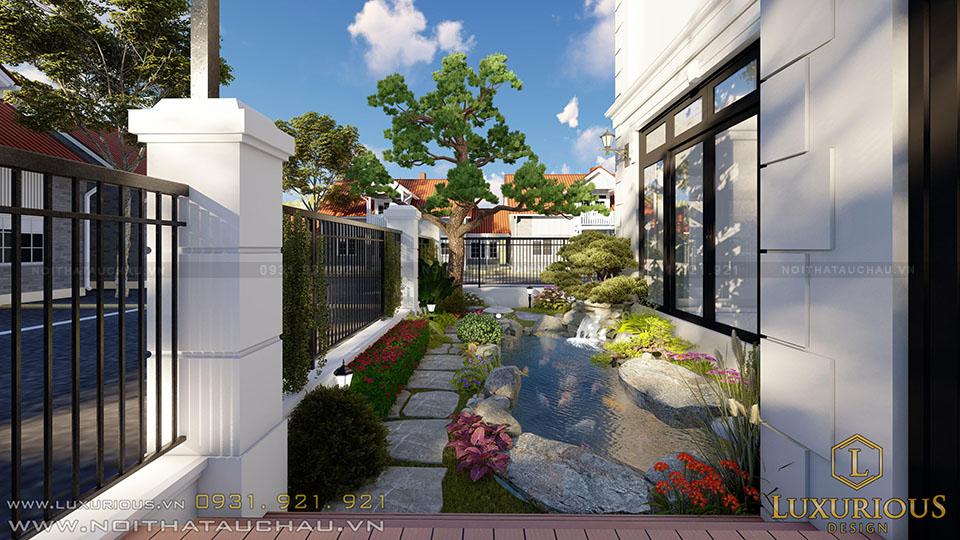 Bể Cá Koi Biệt Thự Sân Vườn Vinhomes Imperia Hải Phòng