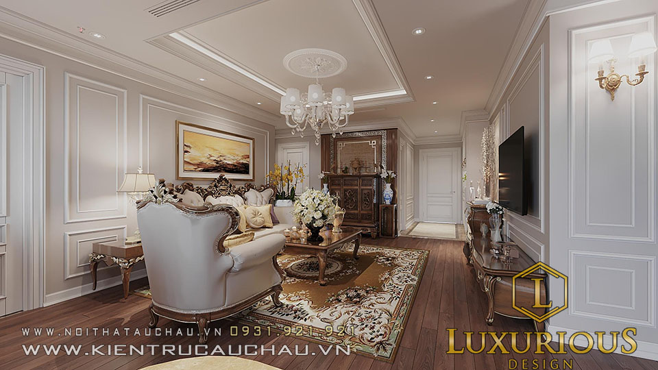 Thiết kế nội thất căn hộ chung cư 81 Tầng