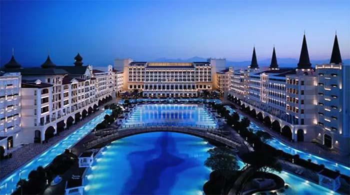 những khách sạn đẹp thế giới