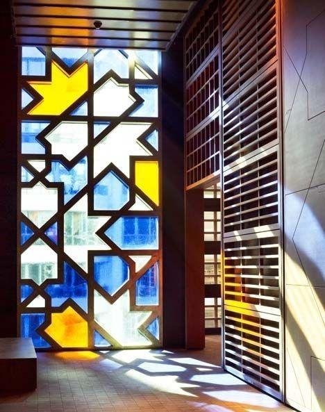 Thủy tinh màu trong Art Deco - phong cách trang trí nghệ thuật