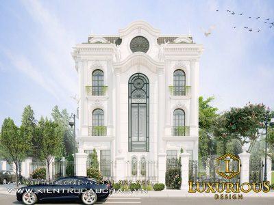Thiết Kế Kiến Trúc Biệt Thự The Premier Phong Cách Tân Cổ Điển 20m