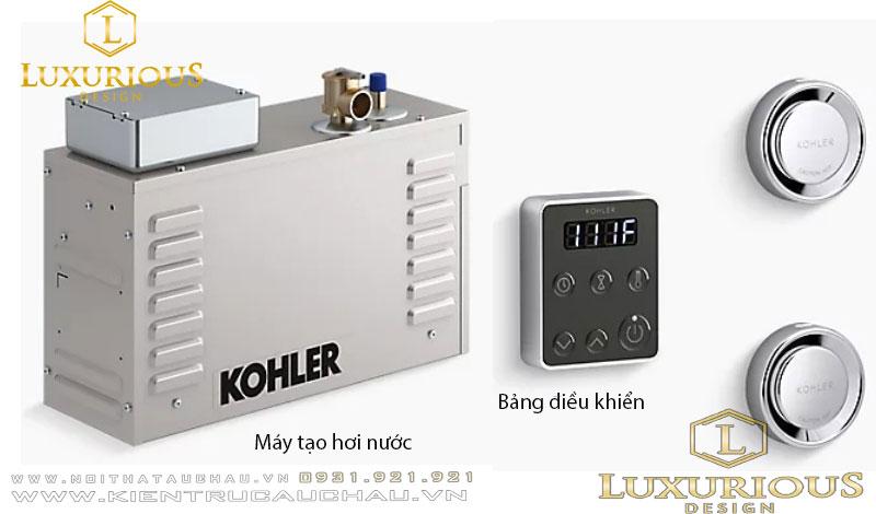 Bộ máy tạo hơi nước và bảng điều khiển