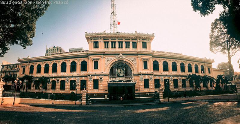 Bưu Điện -Kiện Trúc Cổ Điển Tại Sài Gòn