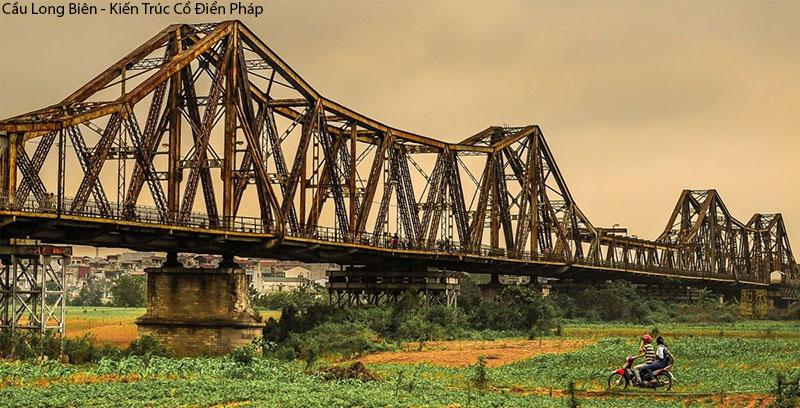 Kiến Trúc Cổ Điển Pháp Tại Việt Nam- Cầu Long Biên