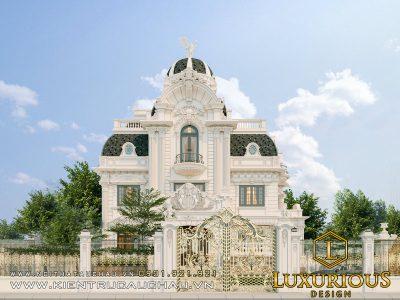 Thiết Kế Kiến Trúc Dinh Thự Tân Cổ Điển 27m Starlake