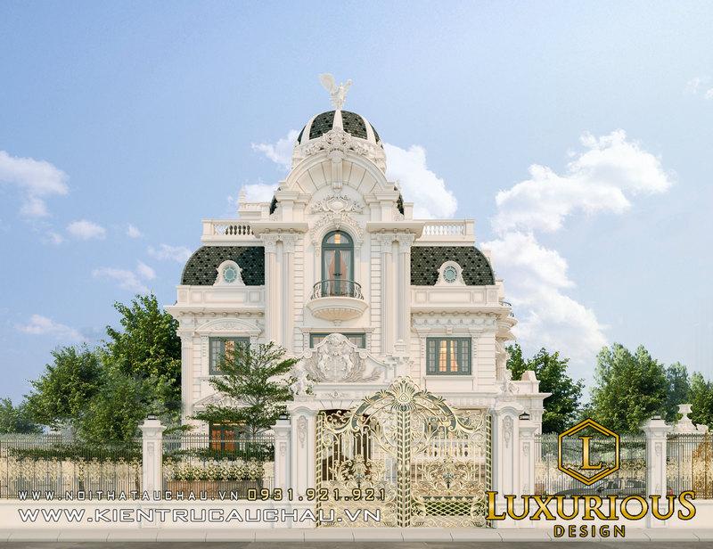 Thiết Kế Dinh Thự Tân Cổ Điển Starlake