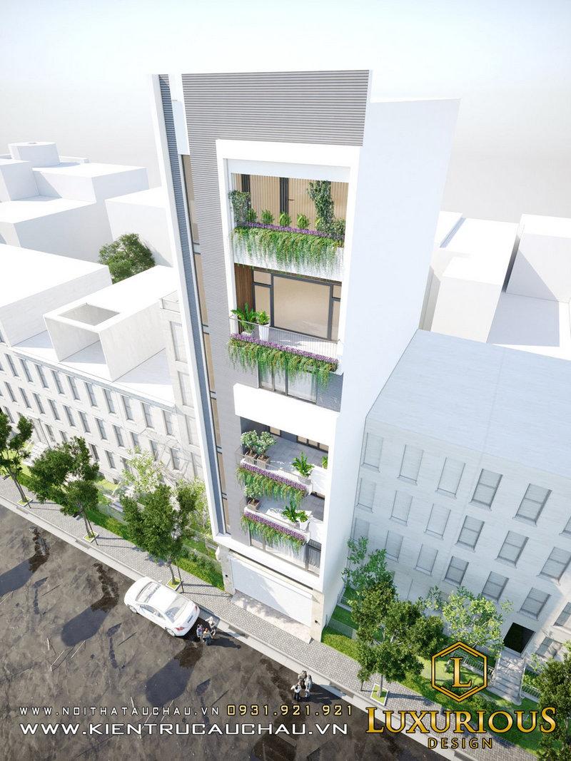 Kiến trúc nhà phố 16m Vinhomes Ocean Park