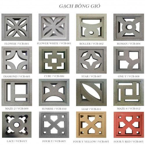 Gạch bông phong cách Indochine