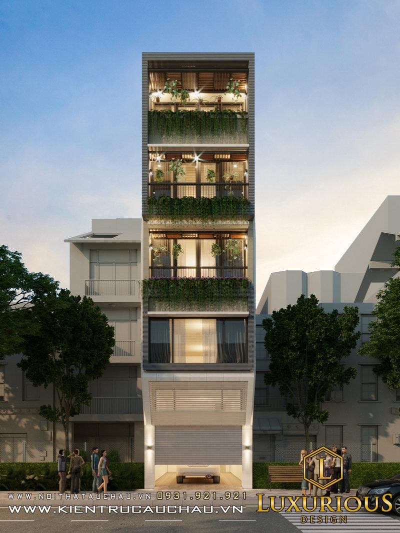 Nhà phố 14m Ecohome