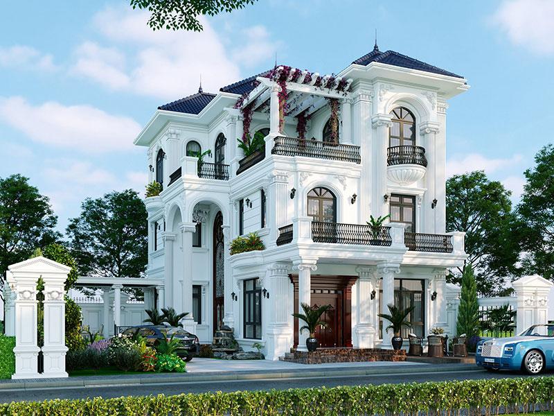 Hình Ảnh 3D Thiết Kế Biệt Thự Do Luxurious Design Thực Hiện